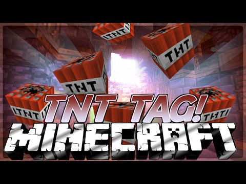 Minecraft Mini-Game: TNT TAG (Server IP in the Description!) (So many Lolz)