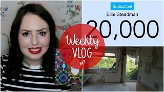 Weekly Vlog #7 | Mini Hauls, Building Work & 20,000!