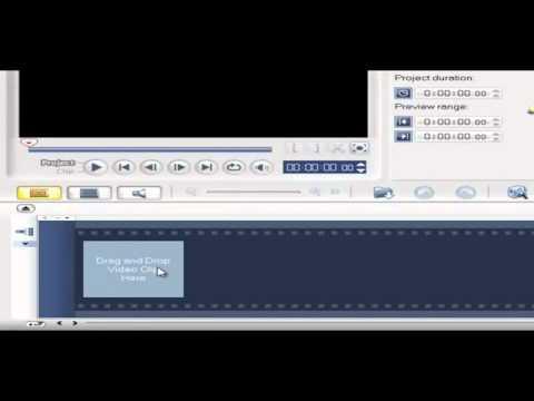 การใช้โปรแกรม ulead video studio v 11 ตอนที่ 1
