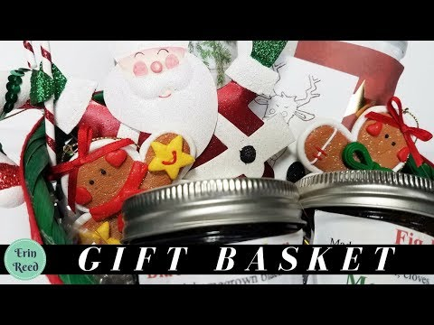 Gift Basket with Homemade Jam & Cookies  **GIVEAWAY**