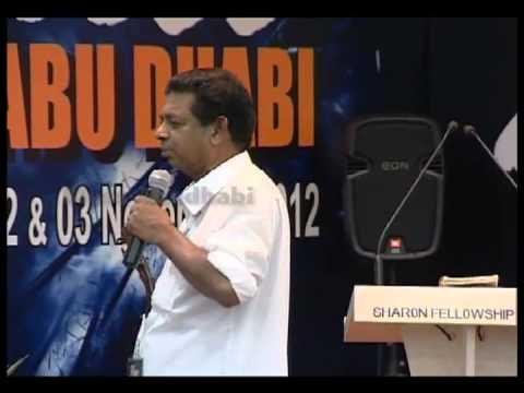 Pr.M Paulose-Bless Abu Dhabi 2012 1st day message