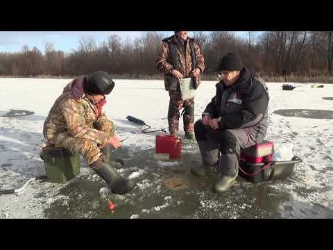 Зимняя рыбалка  Открытие сезона 2017   2018 гг