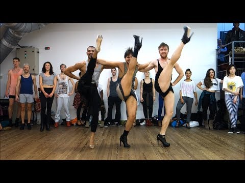 Yanis Marshall Choreography fabulous Baby Sister Act. Cabaret Heels Class Studio Harmonic Paris video