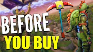 Rex Outfit   Scaly   Pick Squeak - Before You Buy - Fortnite