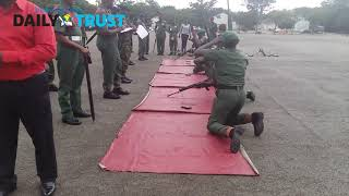WOW! See How Female Soldiers are being trained to fight Boko Haram Terrorist