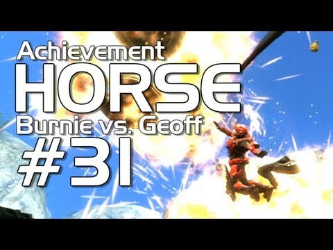 Halo: Reach - Achievement HORSE #31 (Geoff vs Burnie Burns)