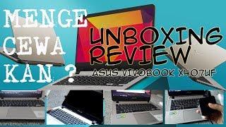 Unboxing dan Review Leptop Asus Vivobook X407UF