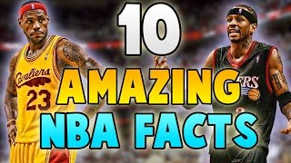 10 AMAZING NBA FACTS!!  10 Things You Probably Didn't Know About NBA Players
