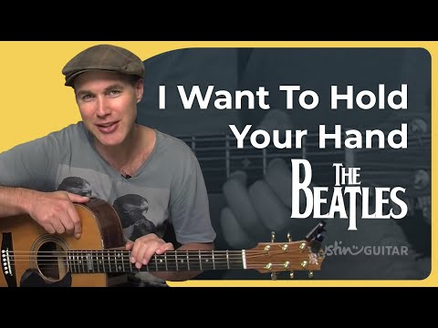 How to play I Want To Hold Your Hand by The Beatles (Beginner...