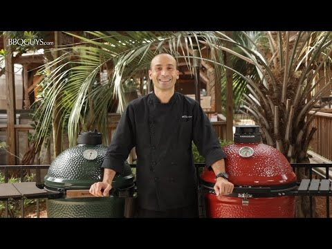 Big Green Egg Vs. Kamado Joe | Comparison of Features | BBQGuys.com