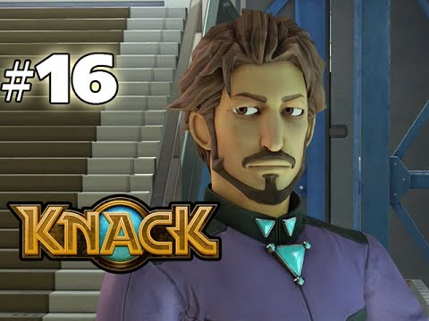 KNACK - GAMEPLAY WALKTHROUGH - PART 16 (HD PS4 Gameplay)