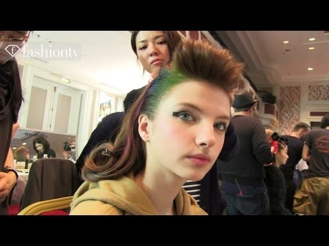 Makeup at Tsumori Chisato Fall 2012 | Paris Fashion Week | FashionTV