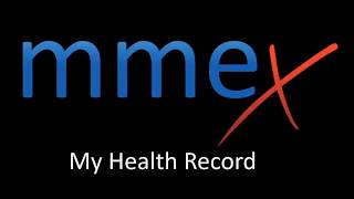 MMEx Tutorial - My Health Record