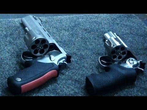 Range Fun - Taurus Raging Bull & Ruger GP100 357 Magnum