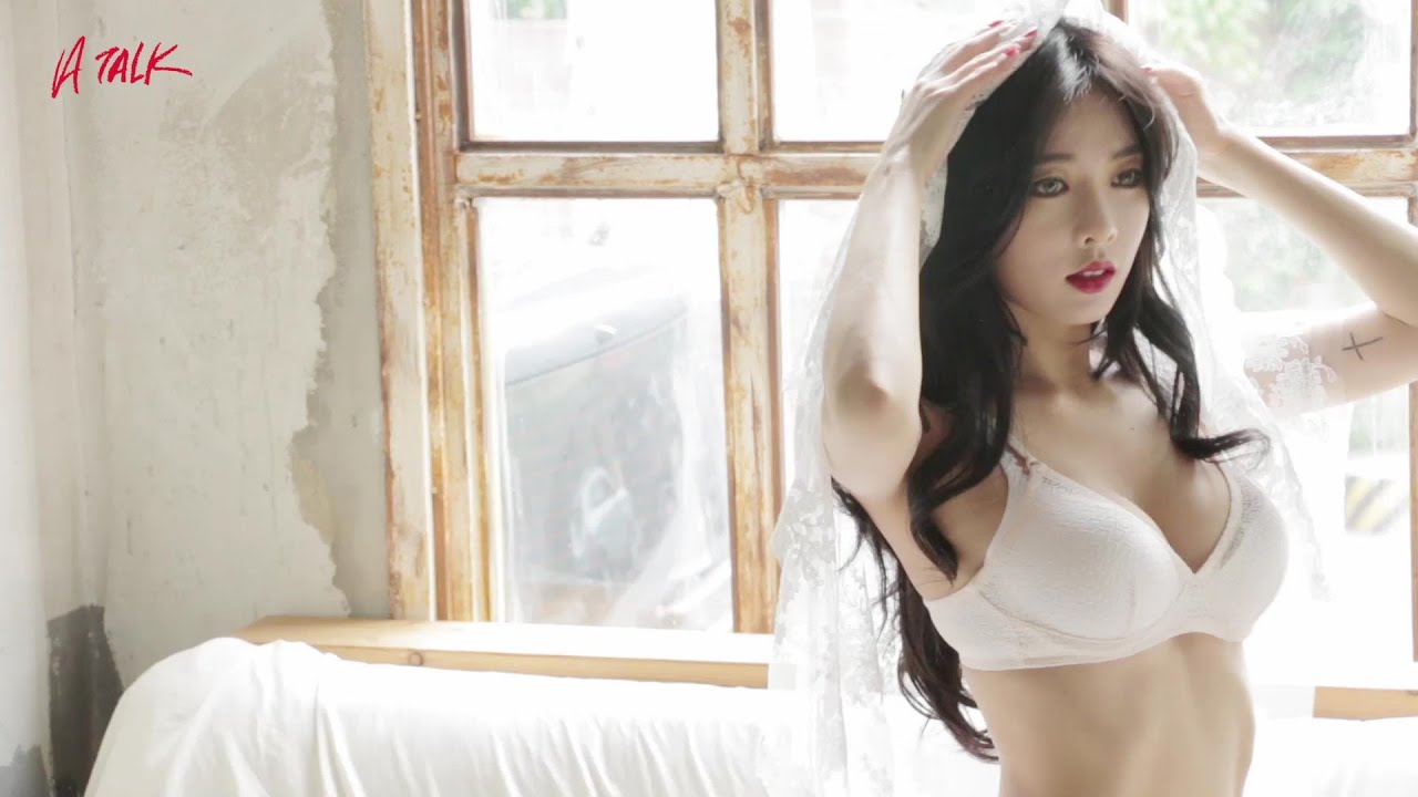 Hyuna 빨개요 Red Bts Photoshoot Youtube