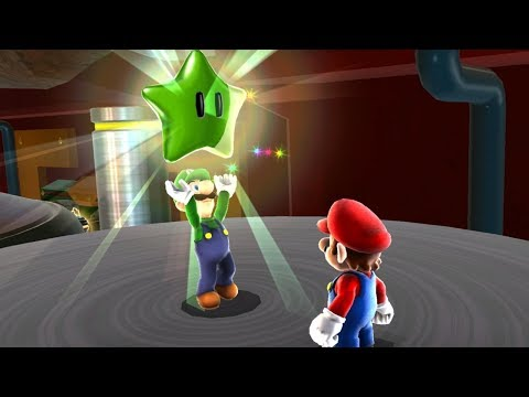 Super Mario Galaxy - All Green Stars