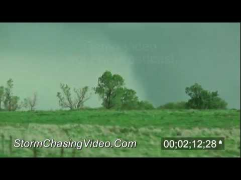 4/14/2012 Geneseo, Kansas Tornado - Stock Video