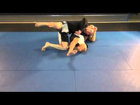 Half Guard Sweep (No Gi) Image 1