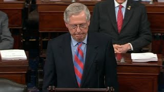 McConnell speaks after