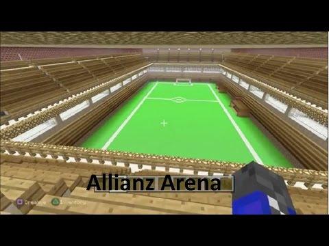 Minecraft: Allianz Arena Football Stadium