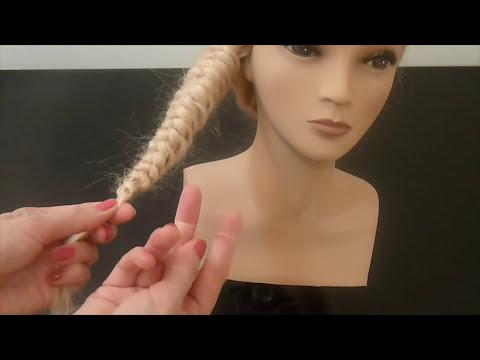 Flecht Frisuren.Schulfrisur.Zopffrisur.Zopf seitlich.Side Braid.Peinados con Trenzas