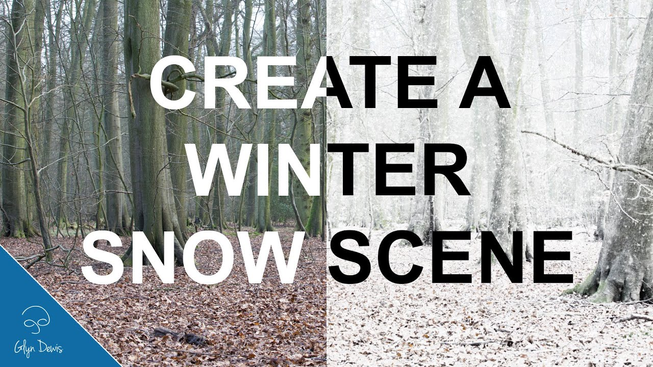 Create a Winter Snow Scene