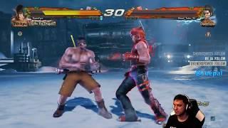 Rip (Law) VS Blood Talon (Hwoarang) - Tekken 7