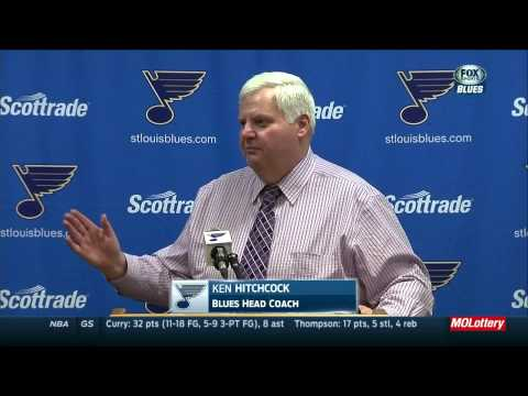 Ken Hitchcock post game press conference. Montreal Canadiens vs St. Louis Blues Feb 24 2015 NHL