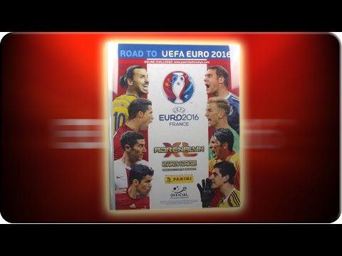 Road to UEFA EURO 2016 SAMMELMAPPE Update