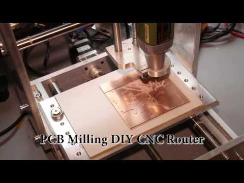 PCB Milling DIY CNC Router Homemade