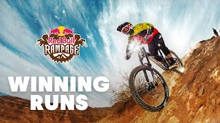 The Winning Runs of Red Bull Rampage (2010-2018)