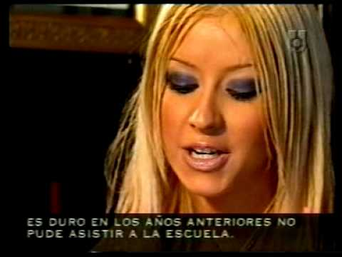 Christina Aguilera in Buenos Aires Argentina March 2000 Interview La Barra Utilisima