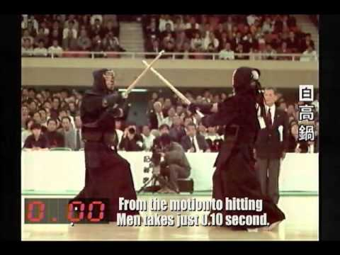 Kendo in High Speed Camera(Slow Motion)