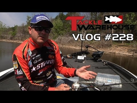 Spro McStick 115 at Table Rock Lake with Mike McClelland Part 2 - Tackle VLOG #228