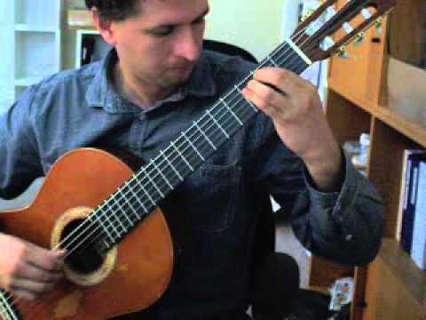 Dionisio Aguado - Study 6 In E Minor
