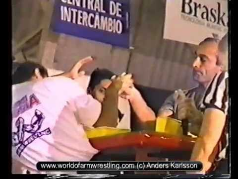 Worlds 1995 - Part 6/6 - Armwrestling
