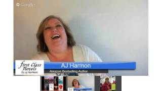 Romance Author AJ Harmon Talks With Romance Novel Readers