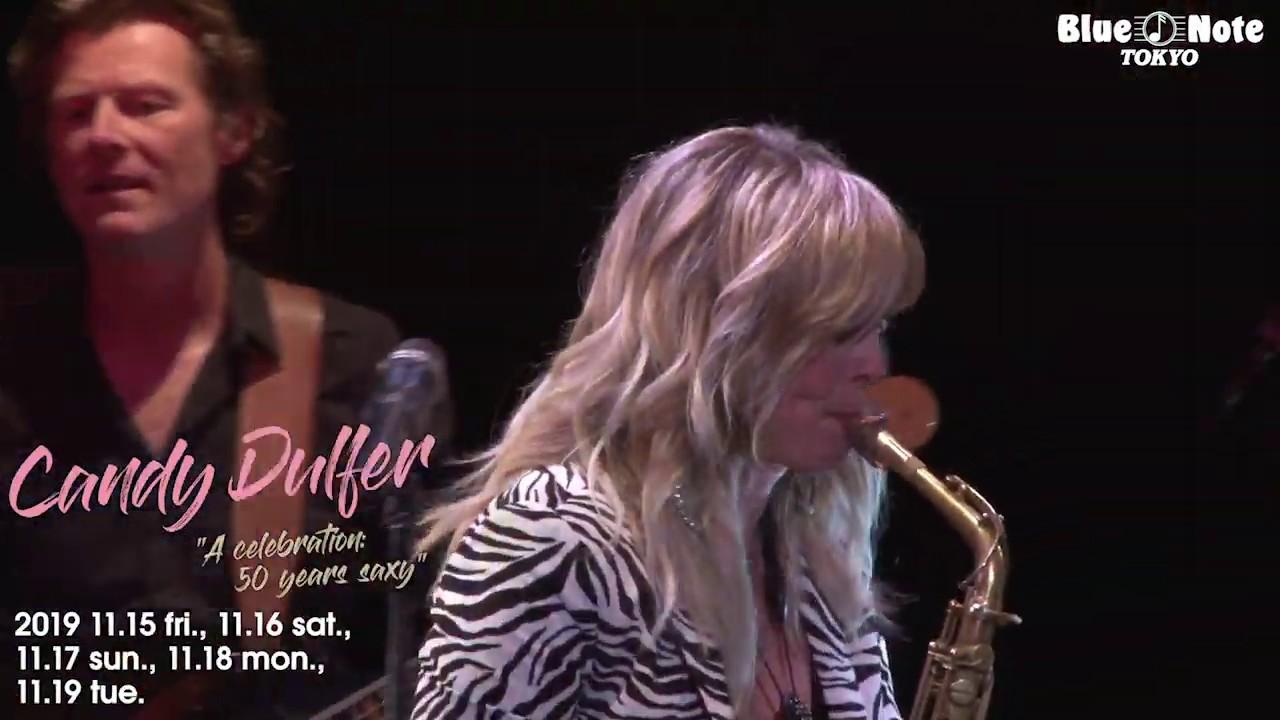 Candy Dulfer -  2019.11.15 BLUE NOTE TOKYOでのライブ・ダイジェスト、コメント映像を公開 thm Music info Clip