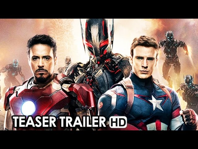 Avengers: Age of Ultron Teaser Trailer V.O. (2015) Robert Downey Jr. Movie HD