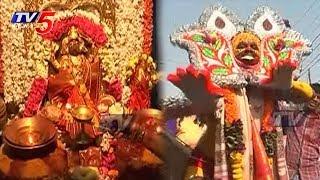 Tolella utsavam Celebrations in Vizianagaram PydiThalli Ammavaru Temple