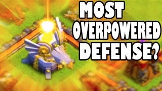 "Clash of Clans - NEW DEFENSE! ""MOST OVERPOWERED DEFENSE EVER?"" New Update Defense Revealed!"