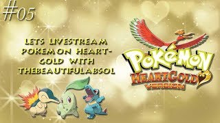 Lets Livestream Pokémon HeartGold #05 ((All These Encounters !!!))