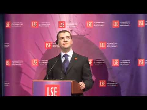 A Lecture by President Dmitry Anatolyevich Medvedev (in English)