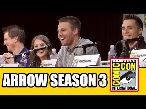 Arrow Season 3 Comic Con Panel 2014 - Part 1