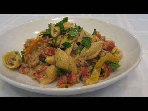 Cheesy Sausage Pasta -- Lynn's Recipes