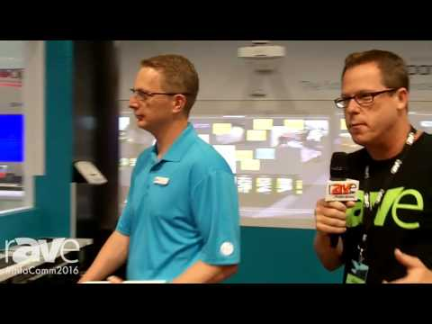 InfoComm 2016: Gary Kayye and Steve Vander Meulen VP of Products Tour Nureva Booth at InfoComm