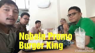 Nyobain Promo BurgerKing