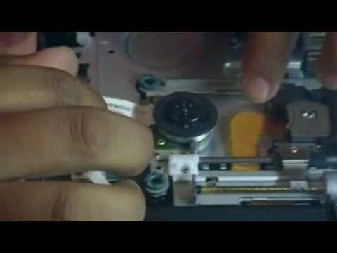 Desmonte y Ajuste de laser de PS2 Slim  parte 4