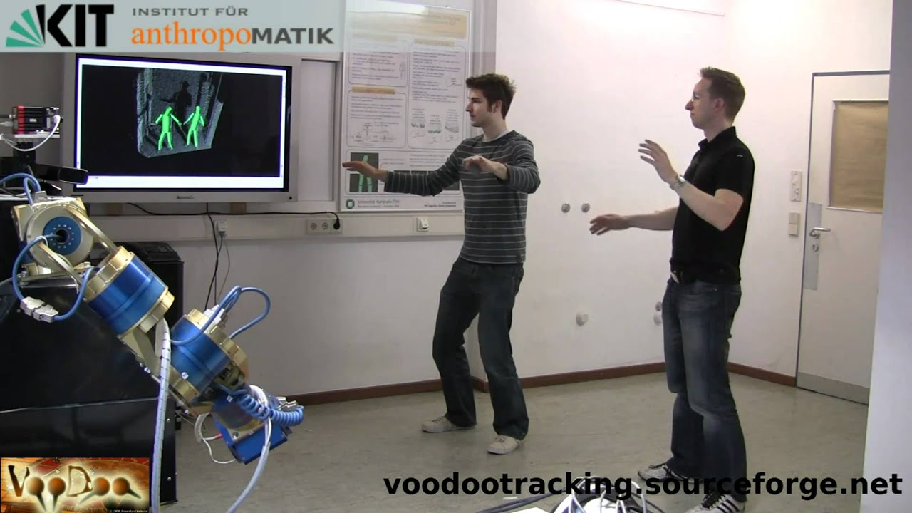Full Body Motion Tracking With Voodoo And Microsoft Kinect