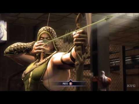 Injustice: Gods Among Us - Batman VS Green Arrow (Story Battle 31) [HD]
